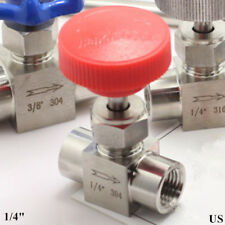 Needle valve Ball valve 1/4