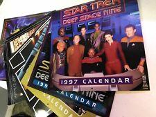 Star Trek Deep Space Nine Calenders 1997- 2002 (6)