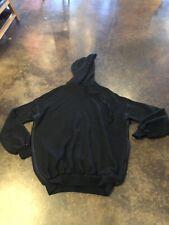 Ben Taverniti Unravel Project Oversized Black Cotton Cashmere Hoody XXS Unisex