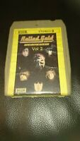 Vintage 8 Track Cassette Cartridge Eight rolling Stones rolled gold volume 2