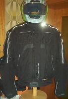 FLM T 14  Sport-Blouson  Edition Black mit Leder Gr.XXL 58/60