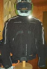 FLM T 14 Sympatex Sport-Blouson  Edition Black mit Leder Gr.XXL 58/60