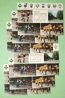 Lotto Stock 6 CARTOLINE Annullo Speciale V Cent.Nasc.Ariosto 1974 Palio Ferrara