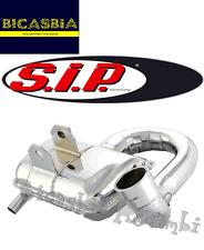 4212 - SILENCIADOR SIP ROAD 2.0 CROMO VESPA PX 200 - PX ARCO IRIS - COSA - RALLY