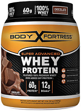 Whey Protein Build Lean Muscle Mass & Strength Amino & Creatine Chocolate NO TAX