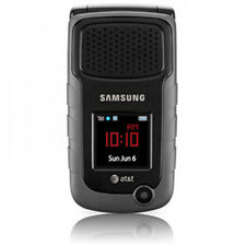 ~UNLOCKED~ Samsung SGH-A847 RUGBY 2 Cell Phone AT&T T-Mobile 3G GSM RUGGED Black