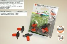 GARDENA Gocciolatori in linea regolabile 8392-29 irrigazione giardino - 55000370