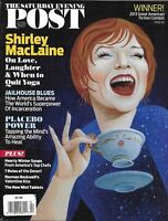 The Saturday Evening Post Magazine Shirley MacLaine American Jails Placebos 2013