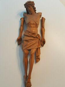 Alte Jesus Figur Holz ca. 42cm. Erbstück ( 1920 ?)