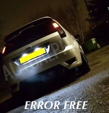 Ford Fiesta Mk6 6 Xenon ICE White LED Number Plate Light Bulbs ERROR FREE ST