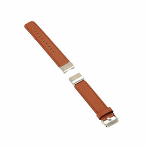 █  Genuine Leather Watch Band Strap replacement wristband for Fitbit Charge 2  █