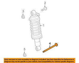 AUDI OEM 08-12 R8 Rear Suspension-Shock Assembly Lower Bolt N10716901