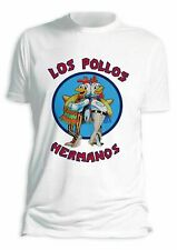 Los pollos hermanos Breaking Bad Camiseta para hombre 100% Retro De Regalo Blanco S - 3xl