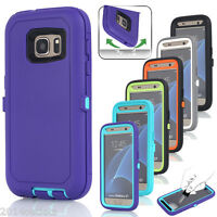 Hybrid Rugged Shockproof Full Hard Case Cover F Samsung Galaxy S9+/Note 8 S7/S8+