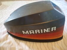 Good Used 9.9 HP Mariner Cowling Hood Cover Outboard