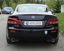 FOX Duplex Performance Exhaust Lexus IS 250C 2.5l je 0 1/16x3 7/8in