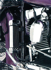 JAGG 1993-2015 Harley-Davidson FXDWG Dyna Wide Glide OIL COOLER SYSTEM CHROME 75