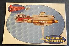 F.A.B.ULOUS THUNDERBIRDS F5 - THUNDERBIRD 5 - Cards Inc. ** Foil Chase Card