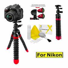 "12"" FLEXIBLE PRO LIGHTWEIGHT TRIPOD FOR NIKON D3000 D3100 D3200 D3300 D5000"
