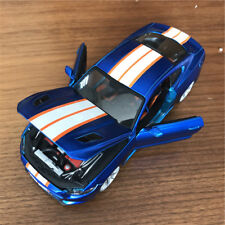 Maisto 1/24 2015 Ford Mustang GT Custom Blue Diecast Toy Car Collection Model