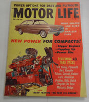 Motor Life Magazine New Power For Compacts Plymouth May 1960 040317nonr
