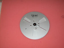 "VG 7"" genuine TEAC RE-711 metal take-up reel 1/4"""