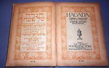 jewish judaica antique Hagada pesach passover budapest 1924 Haggadah Hevesi book