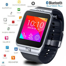 "GSM UNLOCKED! 1.54"" Capacitive Touch Screen Bluetooth Smart Watch - Great Gift!"