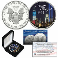 WORLD TRADE CENTER 2018 US Mint American Silver Eagle Dollar 1 oz Coin WTC 9/11