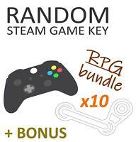RPG Game Bundle [x10 Random Steam Key] + BONUS!!! - PC Region-Free GLOBAL