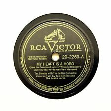 "TEX BENEKE w THE MILLER ORCHESTRA ""My Heart Is A Hobo"" VICTOR 20-2260 [78 RPM]"