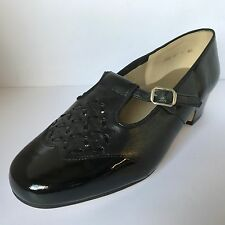 Equity Helen Mary Janes Width EEE Black Patent Leather Size 4 New £34.99