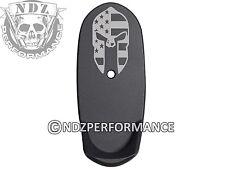 for Shield S&W Grip Extension Mag Plate L 9 40 Bk Spartan Helmet Flag