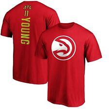 Trae Young Atlanta Hawks Fanatics Branded Team Playmaker Name & Number T-Shirt -
