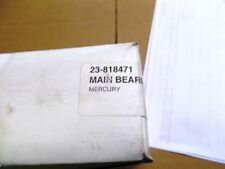 New OEM Mercruiser Main Bearing Set Part Number 23-818471
