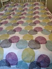 IKEA Malinrund Full Queen Duvet Cover Medalion Multi Print, 100% Cotton 84 x 84""