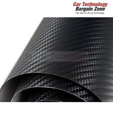 1520x500mm 3D Carbon Fiber Air Bubble Free Fibre Car Van Auto Vinyl Wrap Sheet