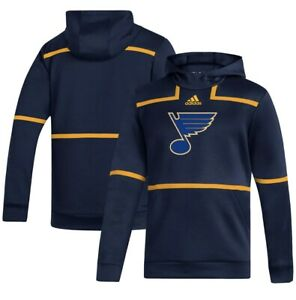 St. Louis Blues adidas Under the Lights Pullover Hoodie Sweatshirt MEDIUM
