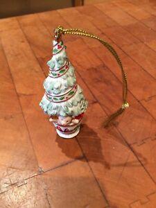 "Lenox Porcelain Holiday Christmas Tree Christmas Ornament - 4"""