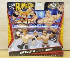 WWE Rumblers SHEAMUS & RANDY ORTON Retired & Rare New in Box