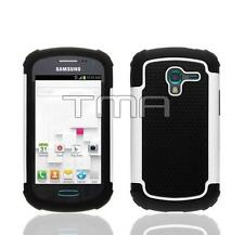 Fits Samsung Galaxy Ace 2 II-E T599 Case Rugged Impact Shockproof Cover - White