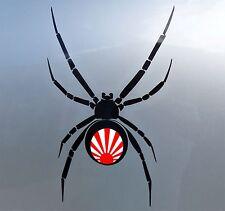 Rising Sun Black Widow Stickers Car Vinyl Decals JDM