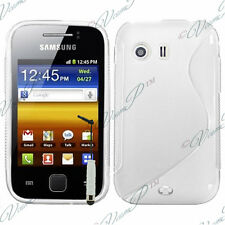 ACCESSORIES COVERS TPU SHELL S GEL STYLUS TRANS Samsung Galaxy Y NEO GT-S5360