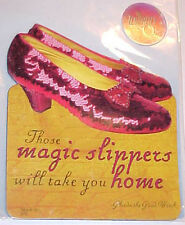 "*Wizard of Oz ""Magic Slippers""3 X 2.5 inch Diecut Magnet"