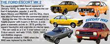 FORD ESCORT MK2 CLASSIC CAR MUG. LIMITED EDITION.RS NEW