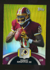 2012 ROBERT GRIFFIN TOPPS VALUE BOX EXCLUSIVE CHROME ROOKIE CARD REDSKINS NFL