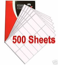 14 per Sheet  x 500 SMARTSTAMP address LABELS FREE P&P