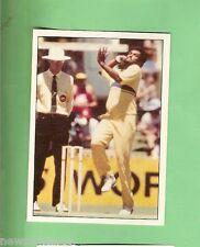 1985 SCANLENS CRICKET STICKER #6  RAVI RATNAYEKE OF SRI LANKA