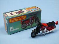 MATCHBOX SUPERFAST No 18 HONDARORA Honda Motorcycle Motor Bike Toy Collectible
