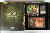 World of Warcraft: The Burning Crusade Collector's Edition Box Blizzard Game PC